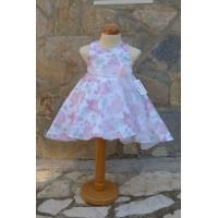 Φόρεμα Βάπτισης Bebe en Rose 68750