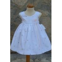 Φόρεμα Βάπτισης Bebe en Rose 68950