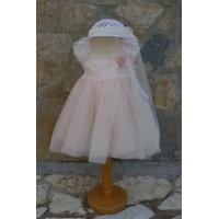 Bebe en Rose Φόρεμα Βάπτισης 69150
