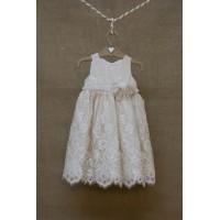 Φόρεμα Βάπτισης Bebe en Rose 650288