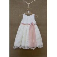 Φόρεμα Βάπτισης Bebe en Rose 69850
