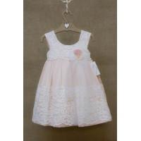Φόρεμα Βάπτισης Bebe en Rose 81468