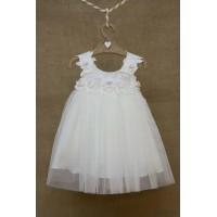 Φόρεμα Βάπτισης Bebe en Rose 81655