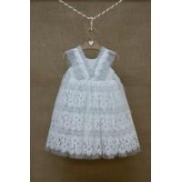 Φόρεμα Βάπτισης Bebe en Rose 826172