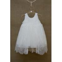 Φόρεμα Βάπτισης Bebe en Rose 82882