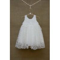 Φόρεμα Βάπτισης Bebe en Rose 83182