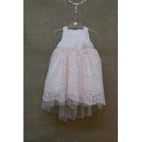 Φόρεμα Βάπτισης Bebe en Rose 83668