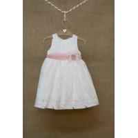 Φόρεμα Βάπτισης Bebe en Rose 84250