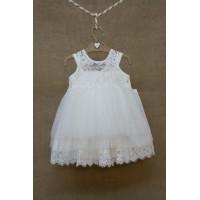 Φόρεμα Βάπτισης Bebe en Rose 84568