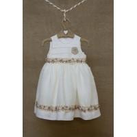 Φόρεμα Βάπτισης Bebe en Rose 85068