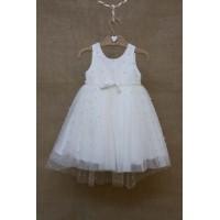 Φόρεμα Βάπτισης Bebe en Rose 85178