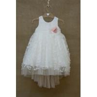 Φόρεμα Βάπτισης Bebe en Rose 85268