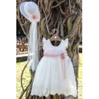 Bebe en Rose Φόρεμα Βάπτισης 92878