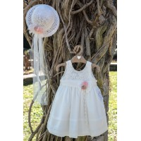 Bebe en Rose Φόρεμα Βάπτισης 94950