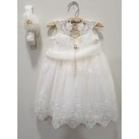 La Christine Φόρεμα Βάπτισης 19K103