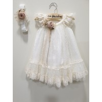 La Christine Φόρεμα Βάπτισης 19K117