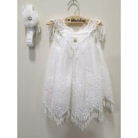 La Christine Φόρεμα Βάπτισης 19K145