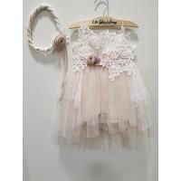 La Christine Φόρεμα Βάπτισης 19K153