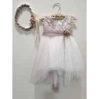 La Christine Φόρεμα Βάπτισης 19K163
