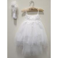 La Christine Φόρεμα Βάπτισης 19K167
