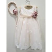 La Christine Φόρεμα Βάπτισης 19K187