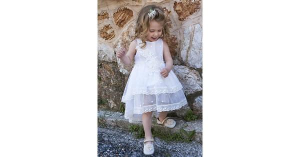 c3e25b59742 Φόρεμα Βάπτισης Makis Tselios 2017gts08 - Papillon eShop   Βαπτιστικά,  Μπομπονιέρες.
